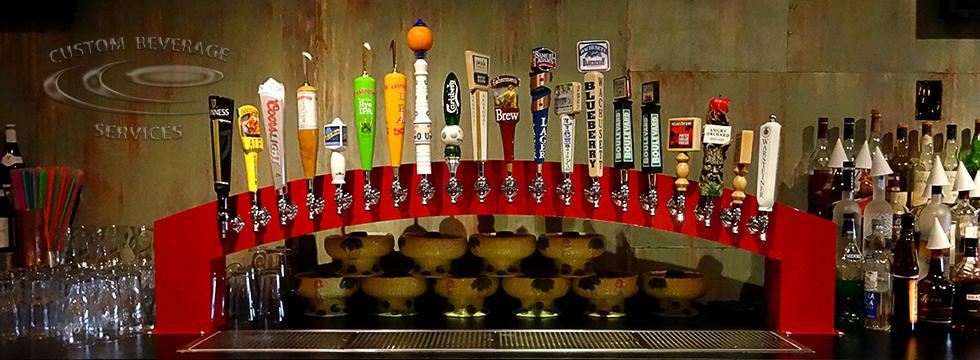 Summer Shack Custom Arch Beer Tower