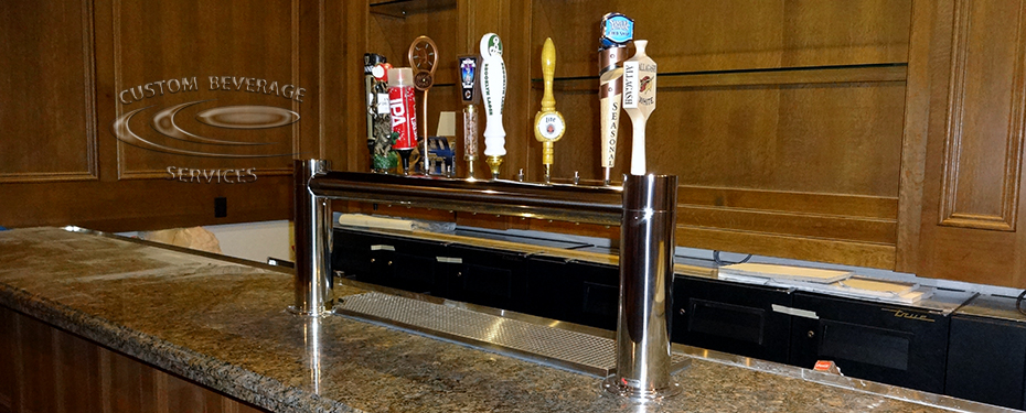 S&H Bistro Lounge - 12 Faucet MetroH Draft Beer Tower Front