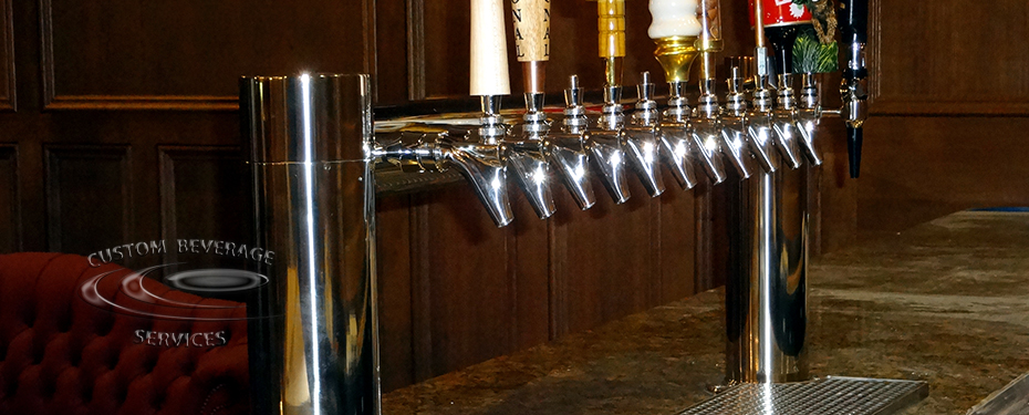 S&H Bistro Lounge 12 Faucet MetroH Draft Beer Tower