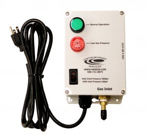 Single Beverage Gas Alarm