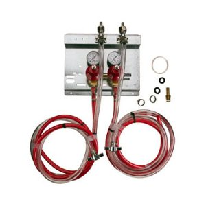 Secondary Regulator Panel Kit - 2 Products - 2 Pressures