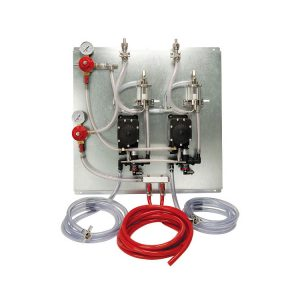 PROM-MAX Beer Pump Panel Kit - 2 Products - 2 Pressures with FOBs