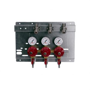 Regulator Panel Kit - 3 Products - 3 Pressures