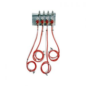 Secondary Regulator Panel Kit - 4 Products - 4 Pressures