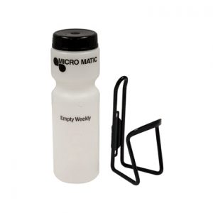 PRO-MAX Wall Mount Drain Bottle - Sealed drain bottle for PRO-MAX (FOBs)