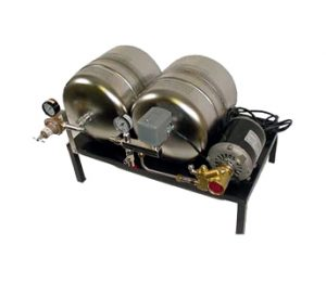 McCanns High Flow Water Booster with Surge Tank