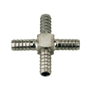 Stainless Barbed Cross - Multiple Sizes