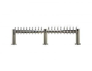 """Metro """"M"""" Draft Beer Tower 20 Faucet - Stainless Steel Finish"""