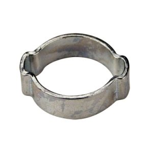"#20/23 Double Ear O-Clamp - Fits 1/2"" I.D. Vinyl Hose"