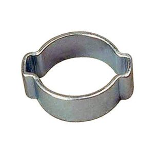 "#17/20 Double Ear O-Clamp - Fits 1/2"" I.D. Vinyl Hose"