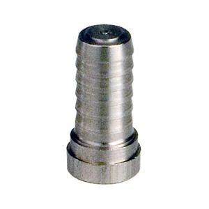 "Stainless Steel Hose Plug - Fits 1/4"" Vinyl or 5/16"" Poly Hose"