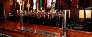 S&H Bistro Bar - 12 Faucet MetroH Draft Beer Tower & Drainer