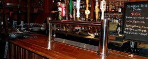 S&H Bistro Bar - 12 Faucet MetroH Draft Beer Tower Front 3-4
