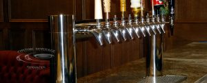 S&H Bistro Lounge 12 Faucet MetroH Draft Beer Tower