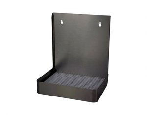 """12"""" Stainless Steel Wall Mount, w/ Drip Tray"""