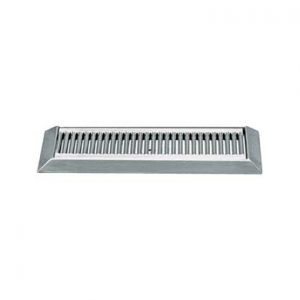 """16"""" Beveled Edge Stainless Steel Drip Tray"""