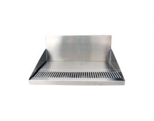 """20"""" Stainless Steel Drip Tray, Large Barrel Head"""