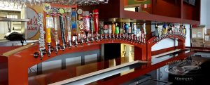 Lulus Allston, MA - Dual Arch Custom Draft Beer Tower