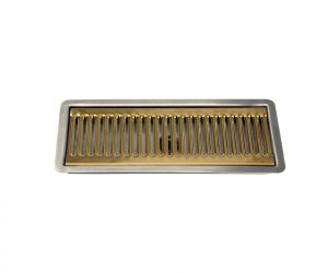 12in SS/PVD Flush Mount Drip Tray